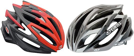 GiroとBellのヘルメットIonosとVolt