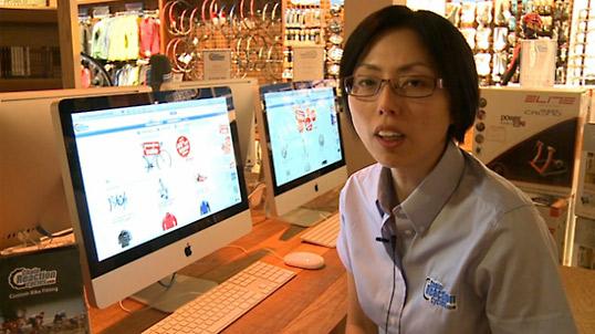 Chain Reaction Cyclesの買い物方法解説ビデオ